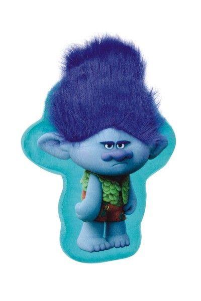 Perna plus in forma de Trolls albastra