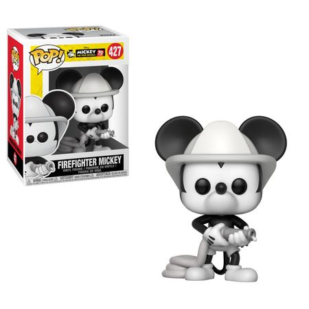 POP VINYL: DISNEY: MICKEY'S 90TH ANNIVERSARY: FIREFIGHTER MICKEY