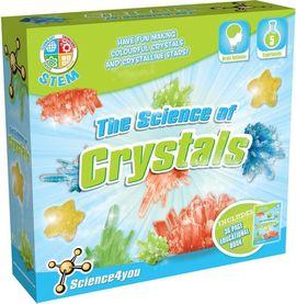 Set experimente - Stiinta cristalelor - Science4you