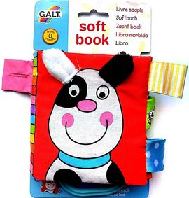 Soft Book: Carticica moale Pets