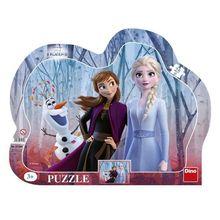 Puzzle cu rama - Frozen II (25 piese)