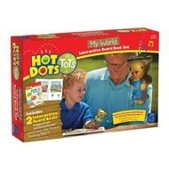Set Hot Dots - 2 carti interactive- Lumea mea