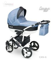 Carucior copii 2 in 1 Carera New CAMARELO COLOR CAN-6
