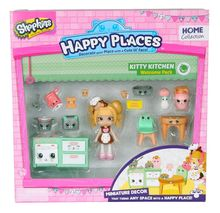 Happy Places S1 - Kit-ul de bun-venit PACK KITTY KITCHEN