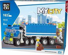 Joc de constructie My City - Camion (163 piese)