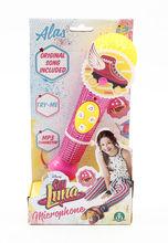 Microfon decorat cu strasuri - Soy Luna