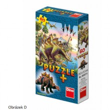 Puzzle - Dinozauri (60 piese) + minifigurina