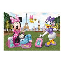 Puzzle - Minnie si Daisy la Paris (24 piese)