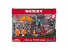 ROBLOX 4 FIGURINE - JAILBREAK GREAT ESCAPE