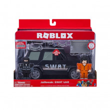 ROBLOX MASINA CU FUNCTII SI 2 FIGURINE - JAIL BREAK SWAT UNIT