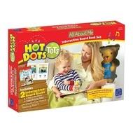 Set Hot Dots - 2 carti interactive- Totul despre mine