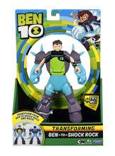 BEN 10 FIGURINE TRANSFORMABILE DELUXE Ben 10 – Shock Rock