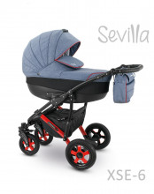 Carucior copii 3 in 1 Sevilla Camarelo Xse-6