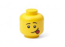 Cutie depozitare S cap minifigurina - pozna?