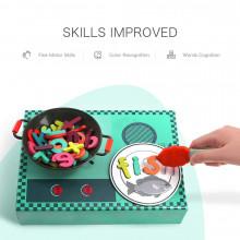 Joc interactiv - Scrie cu micul bucatar