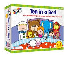 Joc interactiv - Ten in a bed