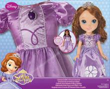 Papusa Sofia cu rochita copil
