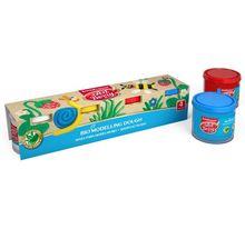 Plastilina BIO cu aloe vera in culori primare ( 4 x 100 gr)