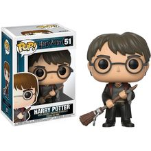 POP VINYL HARRY POTTER S4- HARRY POTTER W/ FIREBOLT