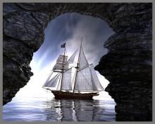 Proiector tip lanterna - Pirati