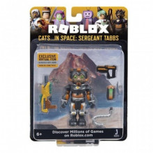 ROBLOX CELEBRITY FIGURINA S5 - CATS IN SPACE SERGEANT TABS