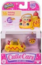 Shopkins Cutie Cars - Pachet 1 masinuta - Hotdog Hotrod