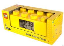 Ceas desteptator LEGO caramida galbena (9002144)