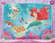 Puzzle - Mica Sirena (40 piese)