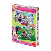 Puzzle 2 in 1 - Prietena mea Minnie (66 piese)