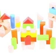 Cuburi colorate pentru construit