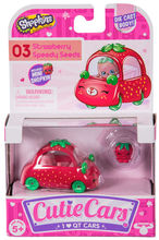 CUTIE CARS, pachet 1 masinuta - Strawberry Speedy Seeds