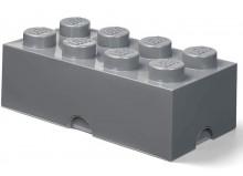 Cutie depozitare LEGO 2x4 gri inchis (40041754)