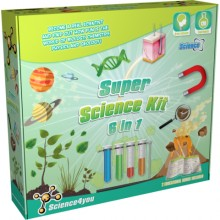 Kit 6 in 1 - Super experimente