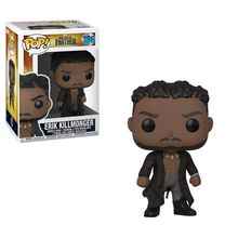 POP BOBBLE: MARVEL: BLACK PANTHER: KILLMONGER W/ SCARS