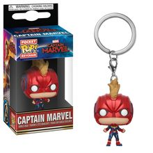 POP KEYCHAIN: MARVEL - CAPTAIN MARVEL - CAPTAIN MARVEL FULL SUIT