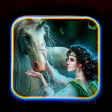 Proiector tip lanterna - Unicorni