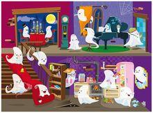 Puzzle (30 piese) cu carte - Casuta fantomelor