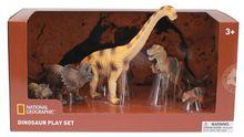Set 5 figurine - Dinozauri fiorosi