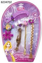 Set accesorii pentru par (6 piese) - Rapunzel