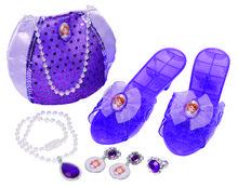 Set dress-up geanta, pantofi şi bijuterii - Sofia Întâi