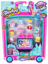 Shopkins, pachet 12 figurine, colectia Europa Pink