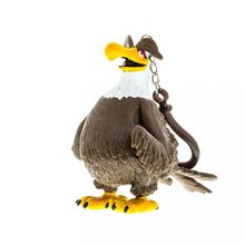 Angry Birds: 3D fig plastic cu agatatoare 7-8,5 cm - Mighty Eagle