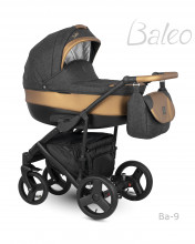 Carucior copii 2 in 1 Baleo Shine Camarelo BaS-9