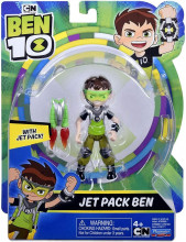 Figurina Ben 10 12cm JET PACK BEN