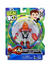 Figurine Ben 10 12cm Omni-Kix Armour Heatblast