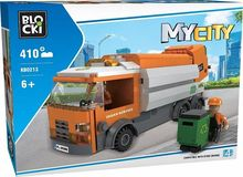 Joc de constructie My City - Camion de gunoi (410 piese)