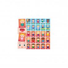 Joc Montessori - Carti emotii si actiuni