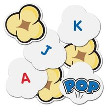 Popcorn cu litere