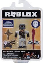 ROBLOX CELEBRITY FIGURINA BLISTER Ninja Assassin: Yang Clan Master