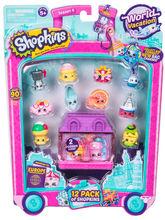 Shopkins, pachet 12 figurine, colectia Europa Purple